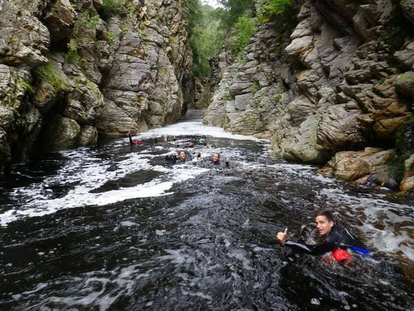 canyon swimming