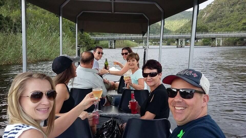 Cruising the Touw River