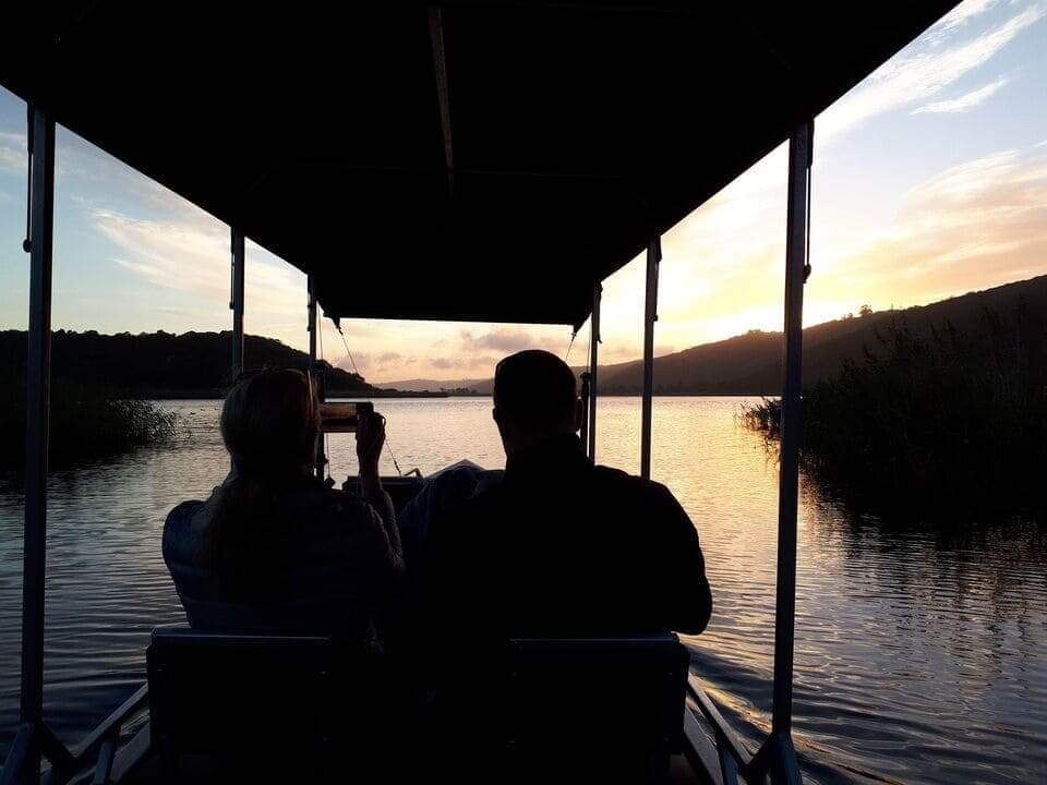 cruising on Island Lake